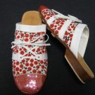 NEW SUSANNA Z. Beaded Art Artsy Original Shoes 36 6