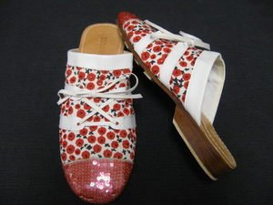 NEW SUSANNA Z. Beaded Art Artsy Original Shoes 36 6