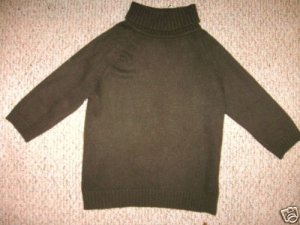 RALPH LAUREN Turtleneck Cashmere Blend Sweater P Petite
