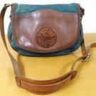 VINTAGE CANVAS LEATHER DULUTH PURSE TOTE SHOLDER BAG