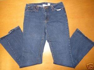 Juniors Aero AEROPOSTALE Stretch Dark Wash Jeans 7/8 R