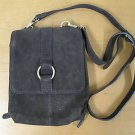 NEW Brown Suede COLDWATER CREEK Purse Handbag Wallet