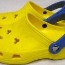 Yellow CROCS Disney Mickey Mouse Clogs Shoes W 4
