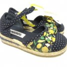 LK NW ABORABLE GYMBOREE POLKA DOT FLOWER SANDALS 6 M