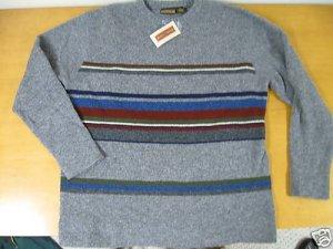 NWT NEW Mens OXFORD & FULHAM Wool Sweater XL
