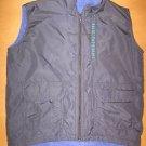 Girls REI Fleece Lined Black Nylon Vest Size XS 4 or 5