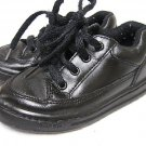 Boys Toddler Black Leather STRIDE RITE Shoes 8 1/2 M