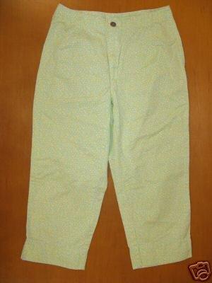 Womens LIZ CLAIBORNE Colorfull Capri Pants Size 4