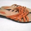Coral Strappy CLARKS Summer Slides Sandals 7 1/2 M