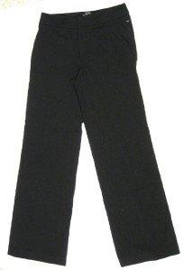 WOMANS BANANA REPUBLIC BLACK STRETCH PANTS SLACKS 6 EUC