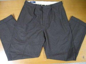 Mens POLO RALPH LAUREN Olive Green Dress Pants 34x34