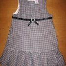 Girls GYMBOREE Houndstooth Ruffle Rhinestone Dress 3