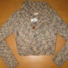 NWT MAURICES WOOL KNIT SWEATER SHRUG SIZE SMALL S NICE!