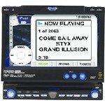 "Jensen VM9311 In-Dash DVD/CD Receiver w/ 7"" LCD Screen, MV-9311"