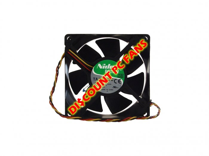 Dell Dimension Cooler CPU Fan 2400 4300 4400 4500 4550 4600 92x32mm