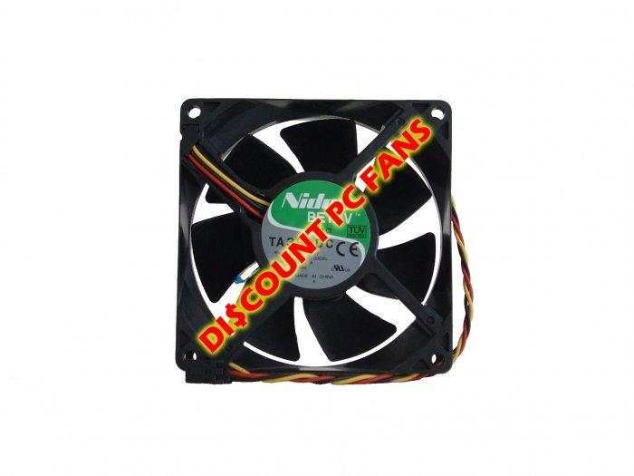 Dell Dimension 2400 PC Computer Fan Temperature Sensing Case Cooling Fan
