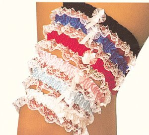 Assorted Colored Leg Garters