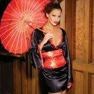 Japanese Doll Costume Black Sizes S-L
