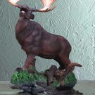 29176 Alabastrite Moose On Grass