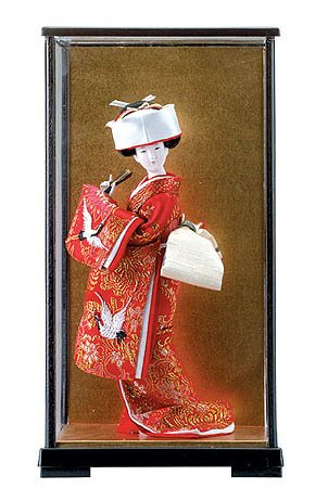 30137 Japanese Bride Doll In Case