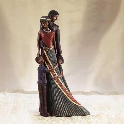 31112 Alabastrite Afro-American Family