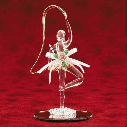 25558 Spun Glass Ballerina