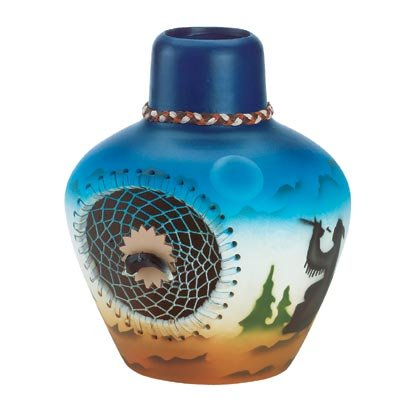35149 Eagle Faux Windcatcher Vase