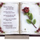 "30271 Musical Alabastrite ""Love Book"" With Stand"