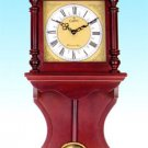 28266 Wood Wall Clock With Chime