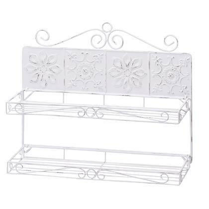 35663 Snowflake Tile Wall Shelves