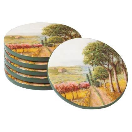35679 Tuscan Coaster Set
