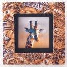 35695 Safari Framed Giraffe