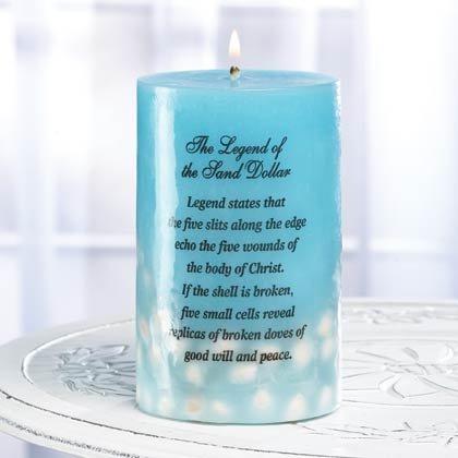35763 Sea Treasures Candle