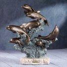 "27251 Alabastrite ""Liberty Bronze"" Dolphins"
