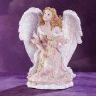 28087 Angel Kneeling With Rose