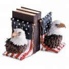 29193 Alabastrite American Eagle Bookends