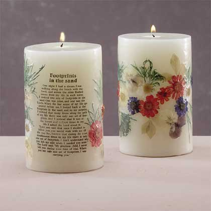 29549 Scented Candle - Footprints