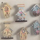 30210 Mini Birdhouse Magnetic Memo Holders