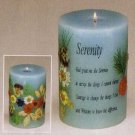 30452 Scented Candle - Serenity With Dry Flower