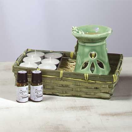 31033 Ceramic Oil Burner - Frog