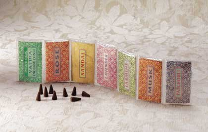 31463 1-Dozen Assorted Scented Incense Cones (Retail - 4.49ea.)