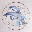 31695 Dolphins Suncatcher Plaque