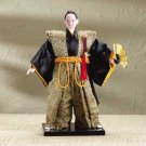 31751 Samurai Doll on Wood Base