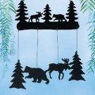 31830 Moose and Bear Windchimes