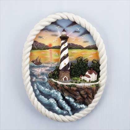 32162 Lighthouse Wall Plaque