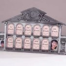 32243 Pewter School House 13-Photo Frame