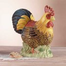 32358 Ceramic Rooster Cookie Jar