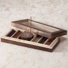 "33006 ""Zen Scents"" Incense Gift Set in Wood Box"