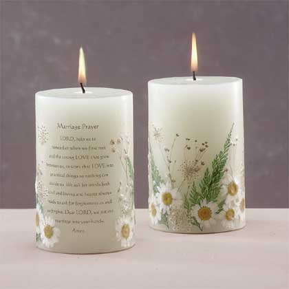 33080 Scented Candle - Marriage with Dried Flowers