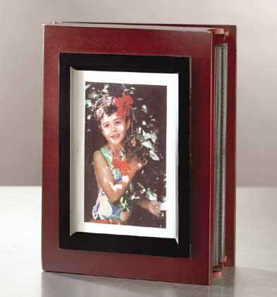33327 Wood Photo Album